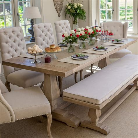 weathered oak kitchen table belvedere dining table weathered oak top la residence