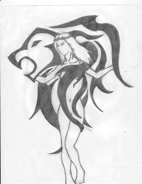 tribal virgo tattoo leo images designs