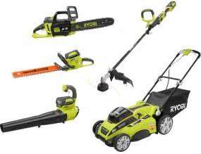 Ryobi outdoor 5year tools