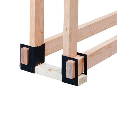 home depot ls pleasant hearth 4 log brackets ls b4 the home depot