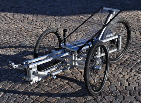 yea or nay diy no weld aluminum recumbent trike my