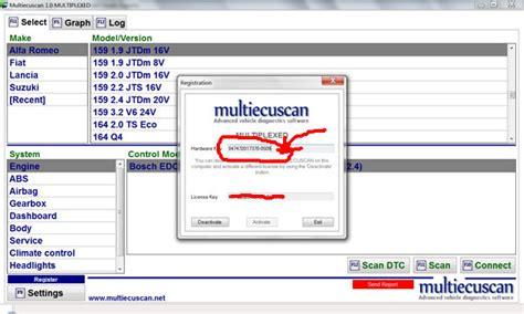 fiat multiscan multiecuscan diagnostics software for italian cars