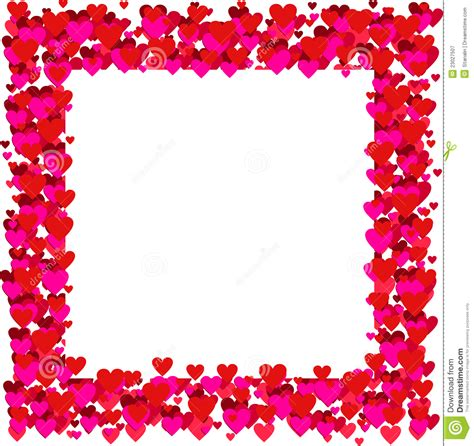 valentines picture frames 20 vector border images happy s day