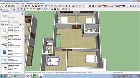 crear casa como crear una casa en sketchup parte 3