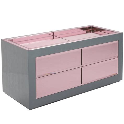 sideboard pink christian lacroix sideboard in grey and pink for sale at