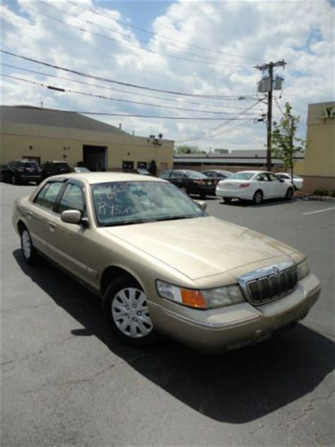 how to sell used cars 2000 mercury grand marquis seat position control purchase used 2000 gold grand marquis gs in lodi new jersey united states for us 3 500 00