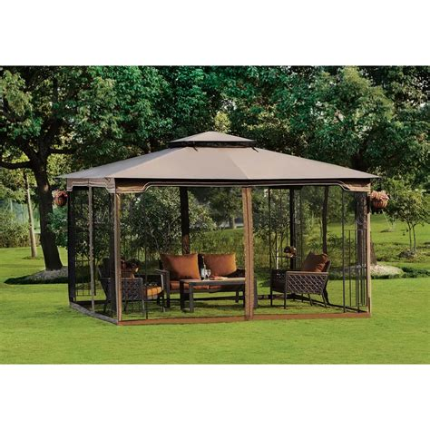 5 X 10 Gazebo Superb Deck Gazebo Canopy 5 10 X 12 Regency Ii Patio