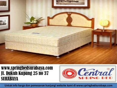Kasur Bed Central No 1 harga bed central surabaya