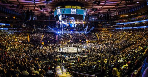 ticket prices released  ufc   msg double  sports