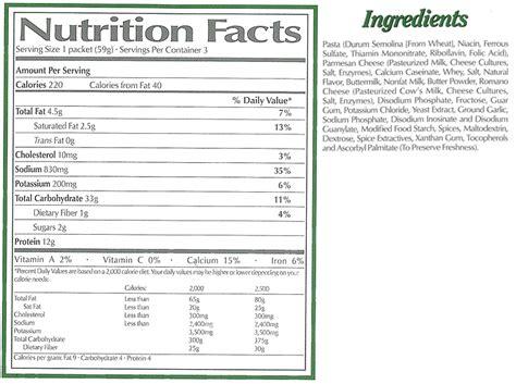 Garden Of Nutrition Facts Olive Garden Nutrition Menu