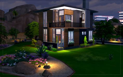 house interior s for sims 3 pretty small modern glass contemporary desert house sims 4 houses
