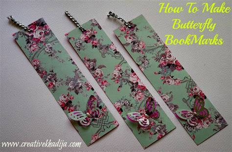 How To Make A Bookmark With Paper - handmade bookmarks tip junkie