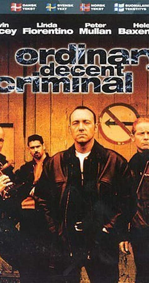 An Ordinary Decent Criminal ordinary decent criminal 2000 imdb