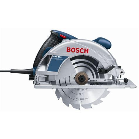 Gergaji Kayu Saw 12inch 300mm bosch blue 1400w gks 190 professional corded circular saw