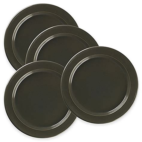 bed bath and beyond dinner plates emile henry dinner plates in charcoal set of 4 bed