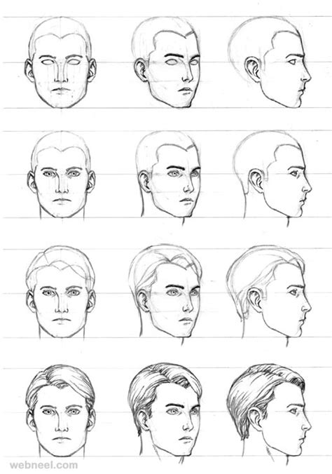 pattern on how to sketch face how to draw a face 25 step by step drawings and video