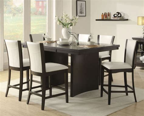 counter high dining room sets peenmedia