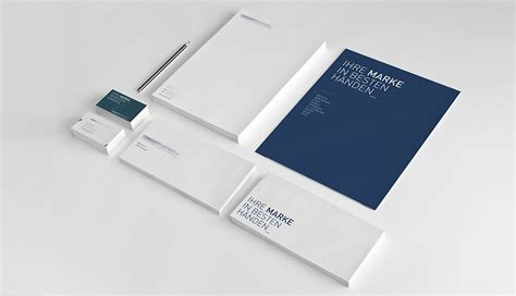 Corporate Design Vorlage Corporate Identity Logoentwicklung Bochum
