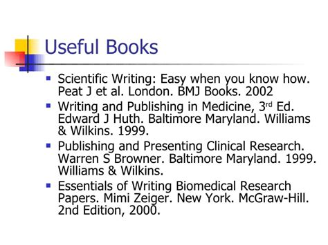 essentials of writing biomedical research papers c material y m 233 todo