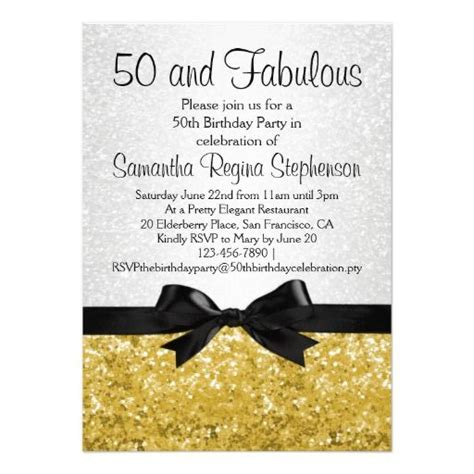 50th birthday invitations templates top 17 50th birthday invitations for