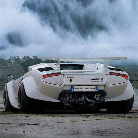 widebody cars lamborghini countach with a wide body kit awesome cars