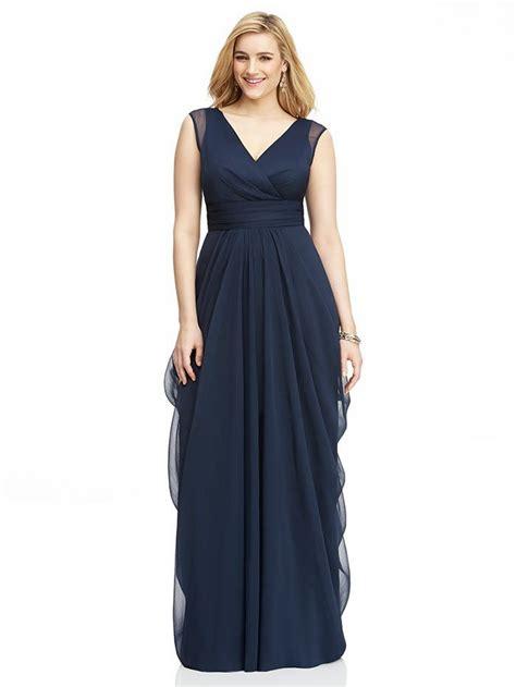 Dv Set Maxi Violet Jersey plus size bridesmaid dresses plus size