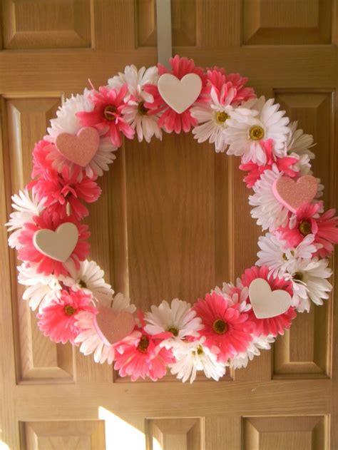 diy valentines wreath picture of pink wreath