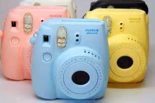 Light Blue Polaroid Camera Thoughts From My Camera Fujifilm Instax Mini 90 Neo Classic