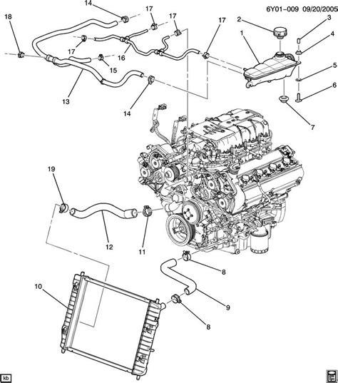 Cadillac Xlr V Upper Radiator Hose 19129885 Factory Oem