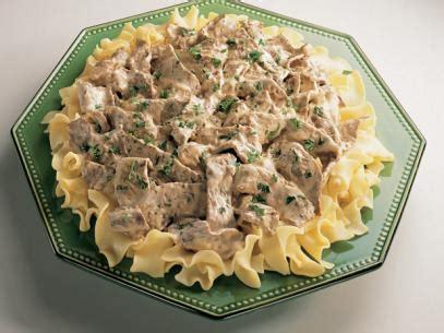ina garten beef stroganoff beef stroganoff recipe ree drummond food network