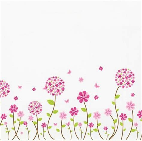 excelente decorar marcos de fotos infantiles #1: Pandora-Flower-Home-Butterfly-Borders-Art-Wall-Paper-Sticker-Decal-Kids-Nursery-Decor.jpg