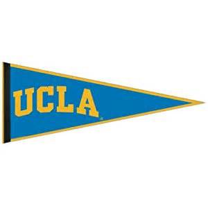 ucla school colors ucla bruins pennant college 2 pack