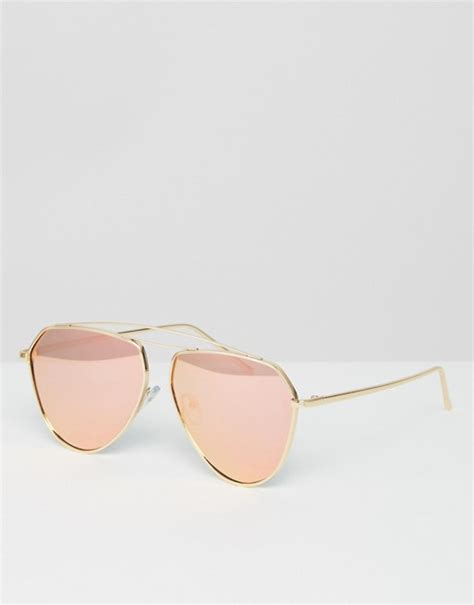 Jeepers Peepers Aviator Sunglasses jeepers peepers jeepers peepers tear drop aviator