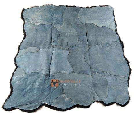 schwarzer fell teppich 214 ko lammfell teppich schwarz gef 228 rbt 210 x 230 cm aus 8