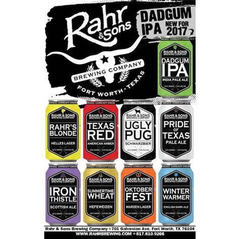 rahr and sons pug rahr sons brewing unveils new branding the pint craft news