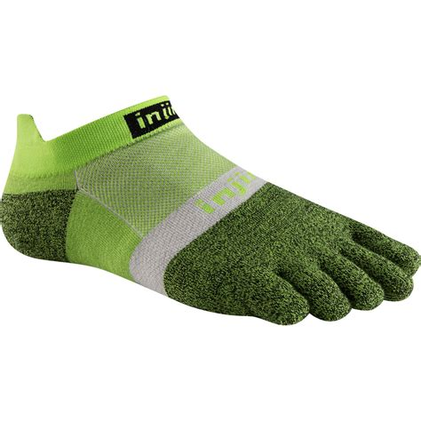 Size S Injinji Run 2 0 Light Weight Mini Crew Grey buy injinji run 2 0 lightweight no show toe socks run and become