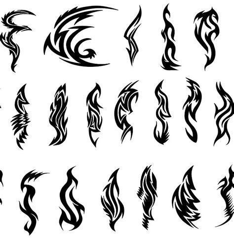 tribal side tattoo designs tribal dagger tattoos pin black tribal tattoos