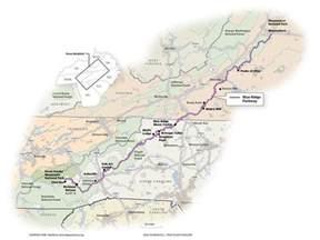 blue ridge parkway map bluegrass road trip