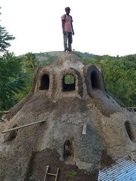 haiti rebuilding sustainably  earthbag houses