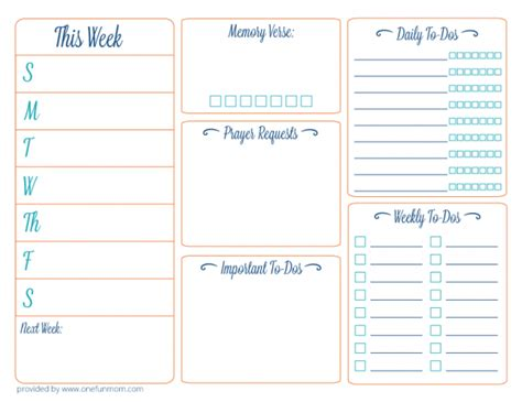 weekly planner for moms printable planner printable images gallery category page 24