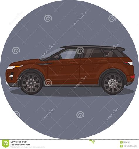 range rover vector evoque illustrations vector stock images 1