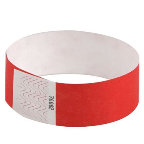 How To Make Paper Wristbands - 500 1 inch bright paper wristbands eventwristbands