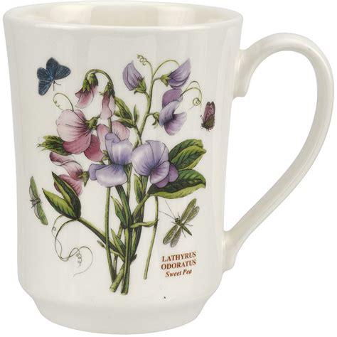 portmeirion botanic garden flared tankard mug sweet pea