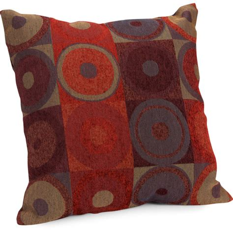 walmart sofa pillows hometrends circles and squares decorative pillow walmart com
