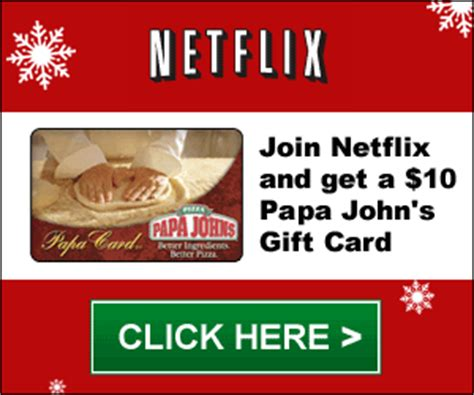 Netflix Gift Card 12 Month - netflix free one month trial 10 papa john s gift card mamas on a dime