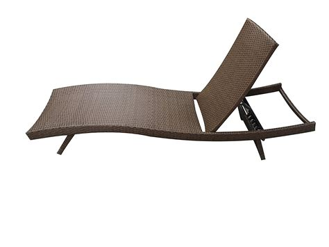 Pool Lounge Chairs Clearance by Outdoor Paito Recliner Pe Wicker Adjustable Pool Chaise