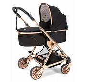 Loves Mamas &amp Papas Black Rose Gold Urbo2 Stroller  Maternity