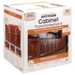 Refinish Kitchen Cabinets Kit by Rust Oleum Transformations Cabinet Wood Refinishing System