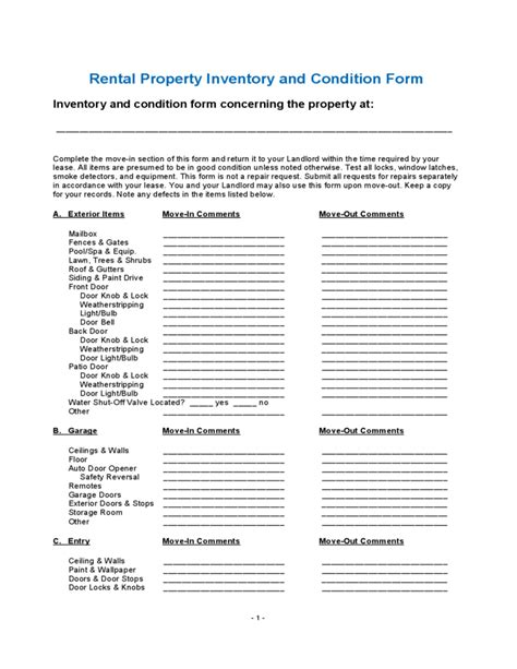 building condition assessment report template 28 images