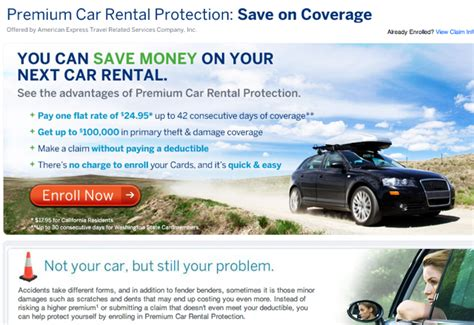 credit cards  primary car rental insurance coverage